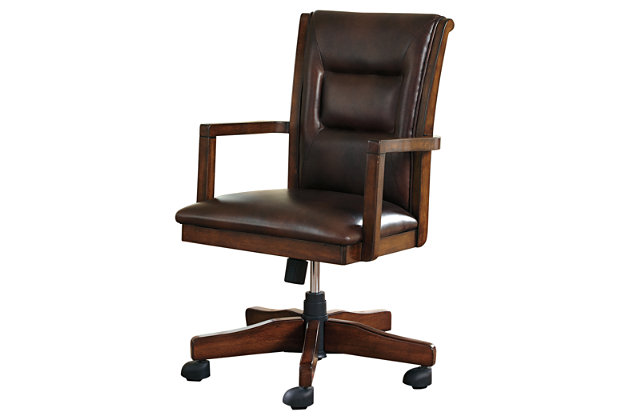 Devrik Home Office Desk Chair by Ashley HomeStore, Brown