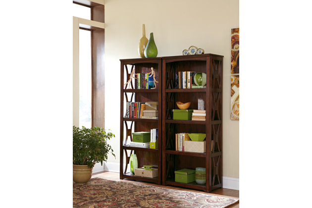 "Devrik 72"" Bookcase, , large"