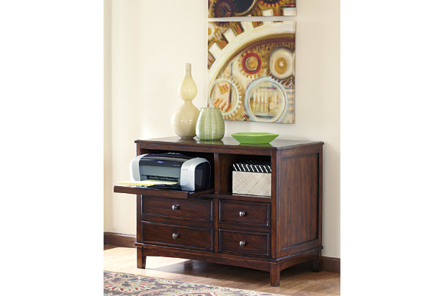 Devrik Storage Cabinet by Ashley HomeStore, Brown
