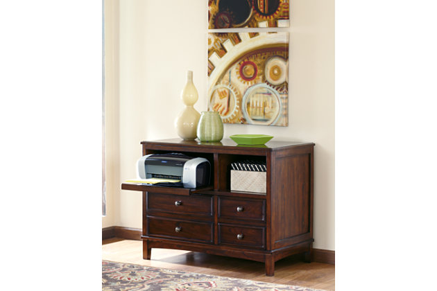 Devrik Storage Cabinet Ashley Furniture Homestore