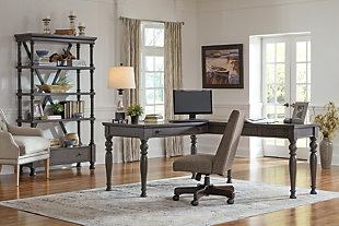 Devensted 2-Piece Home Office Desk, , large
