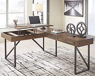 Starmore Home Office Desk with Return, , rollover