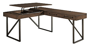 Starmore 2-Piece Home Office Lift Top Desk, , large