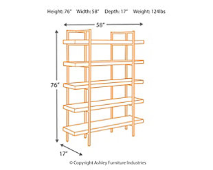 Starmore 76 Bookcase Large