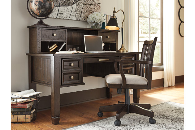 "Townser 59"" Home Office Desk Hutch, , large"