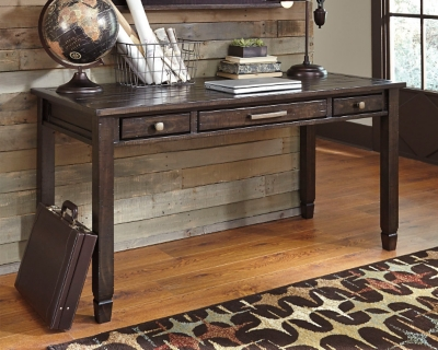 "Townser 60"" Home Office Desk by Ashley HomeStore, Grayish..."