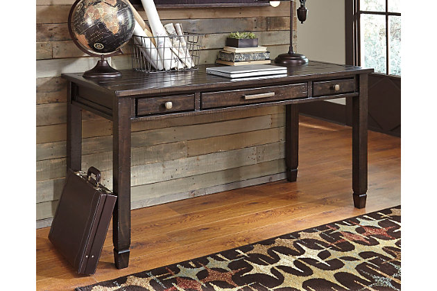 townser 60 home office desk ashley furniture homestore rh ashleyfurniture com Ashley Furniture Sale IKEA Desk
