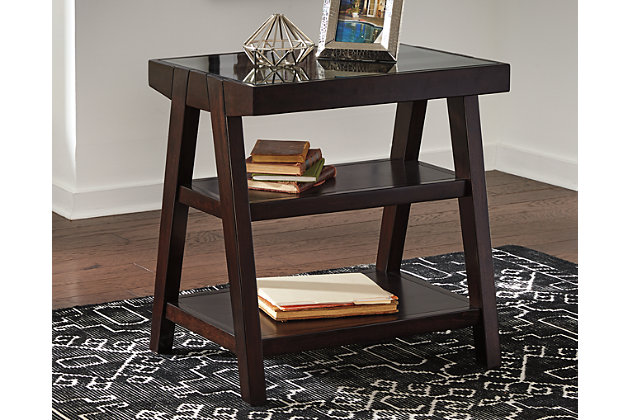 Chanceen Home Office Corner Table Ashley Furniture HomeStore