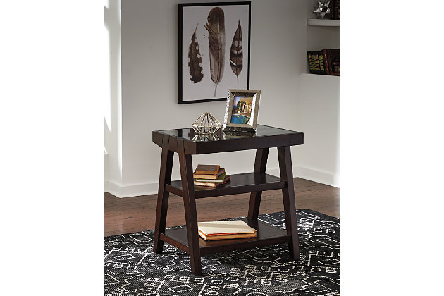Chanceen Home Office Corner Table, , large