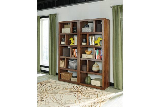 """Lobink 72"""" Bookcase, , large"""
