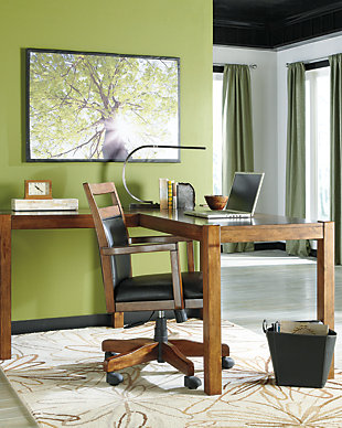 "Lobink 60"" Home Office Desk, , rollover"