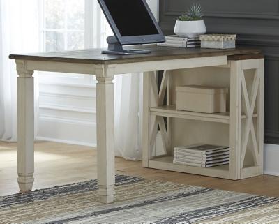 Bolanburg Medium Bookcase Desk Return, , large