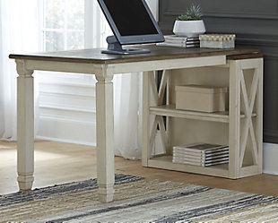 Bolanburg Medium Bookcase Desk Return, , rollover