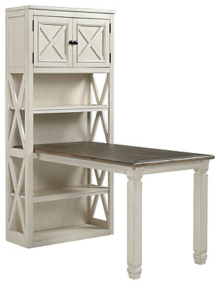 Bolanburg Large Bookcase Desk Return, , large