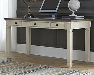 Large Bolanburg 60 Home Office Desk Rollover