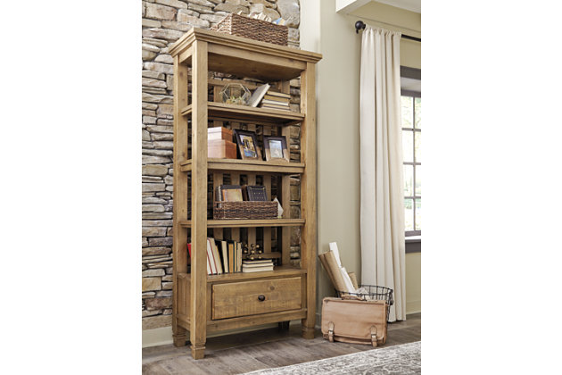 Trishley Pier Cabinet by Ashley HomeStore, Light Brown
