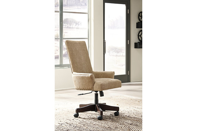 Baldridge Home Office Desk with Chair and Storage, , large