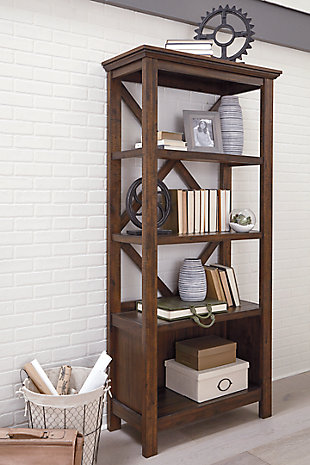 "Baldridge 75"" Bookcase, , large"