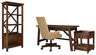 Baldridge 4-Piece Home Office Package, , large