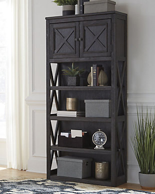 "Tyler Creek 74"" Bookcase, , large"