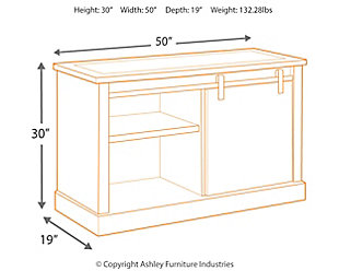 "Luxenford 50"" Credenza, , large"