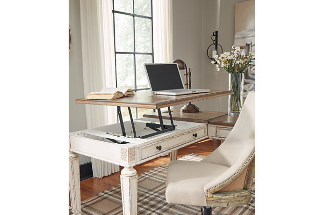 Realyn Home Office Lift Top Desk, , large