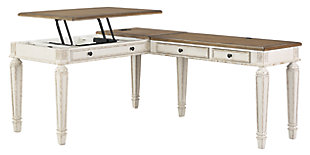Realyn 2-Piece Home Office Lift Top Desk, , large