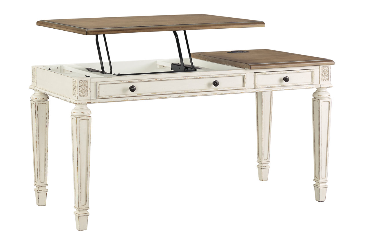 Realyn Home Office Lift Top Desk  Ashley Furniture HomeStore