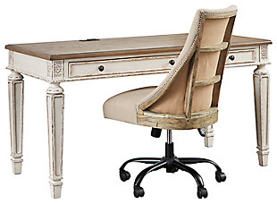 Realyn Home Office Desk with Chair, , large