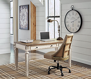 Realyn Home Office Desk with Chair, , rollover