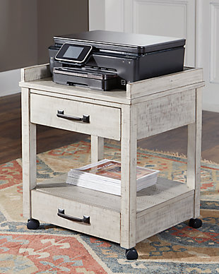 Carynhurst Home Office Desk and Storage, , large