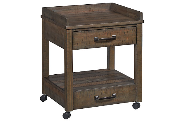 Johurst Home Office Desk and Storage, , large