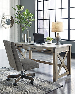 Aldwin Home Office Desk with Chair, , rollover