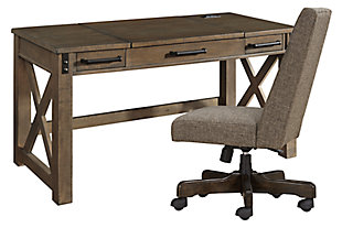 Aldwin Home Office Desk with Chair, , large