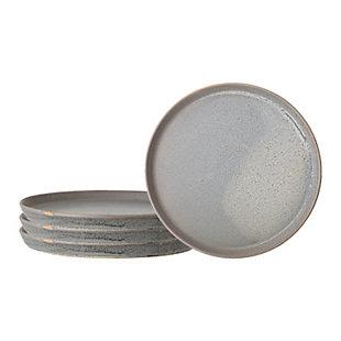 "10-3/4""Rnd Stoneware Platter with Reactive Glaze, , large"
