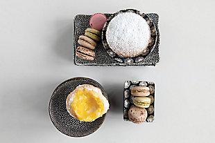 Small Stoneware Bowls (Set of 3 Patterns), , large