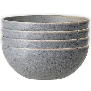 """6-1/2""""Round Stoneware Bowl with Reactive Glaze, , large"""