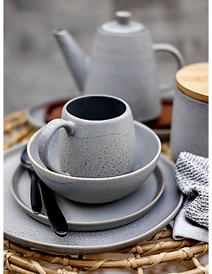 "4-1/2""H Stoneware Mug with Reactive Glaze, , rollover"