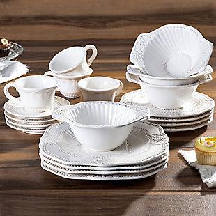 American Atelier Baroque 20-Piece Dinnerware Set, , rollover