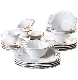 American Atelier Baroque 20-Piece Dinnerware Set, , large