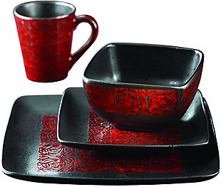 American Atelier Yardley 16-Piece Dinner Set, , large