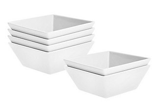 American Atelier Kingsley White Bowl Set of 6, , large