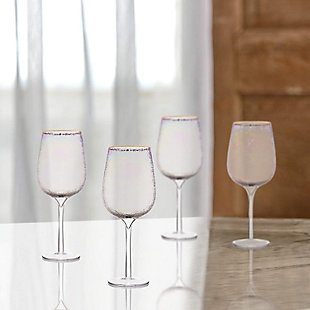 Elle Décor Celine Set of 4 Goblets, , rollover