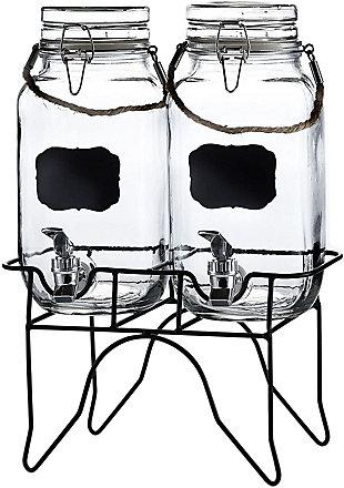 Elle Décor Style Setter Newcastle S/2 Beveragedispensers, , large