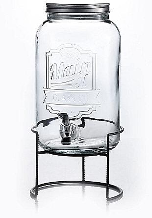 Elle Décor Style Setter Main Street Dispenser withRack, , large
