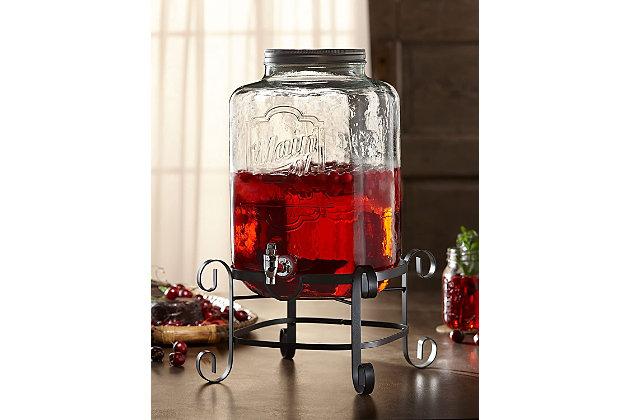 Elle Décor Stylesetter Main Street Beverage Dispenser 3 Gal, , large