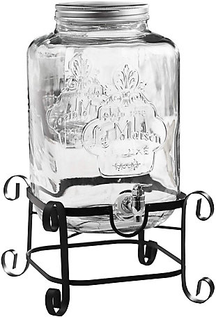 Elle Décor Stylesetter Main Street Beverage Dispenser 3 Gal, , large