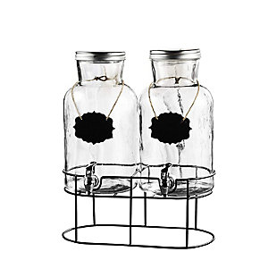 Elle Décor Style Setter Sierra Chalkboard Set/2 Dispensers, , large