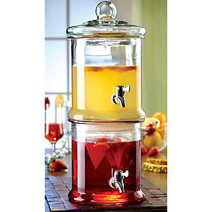 Elle Décor Stylesetter Norfolk Beverage Dispenser, , large