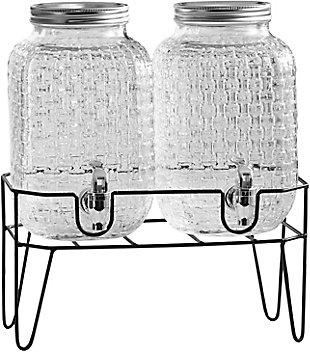 Elle Décor Style Setter Theo Set/2 Dispenser withStand, , large